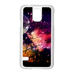 Letter From Outer Space Samsung Galaxy S5 Case (white) by augustinet