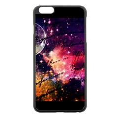 Letter From Outer Space Apple Iphone 6 Plus/6s Plus Black Enamel Case by augustinet