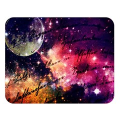 Letter From Outer Space Double Sided Flano Blanket (large)  by augustinet