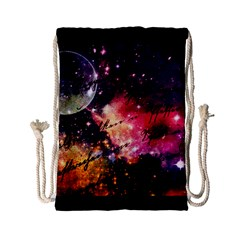 Letter From Outer Space Drawstring Bag (small) by augustinet