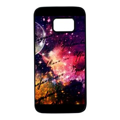 Letter From Outer Space Samsung Galaxy S7 Black Seamless Case by augustinet