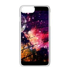 Letter From Outer Space Apple Iphone 7 Plus Seamless Case (white) by augustinet