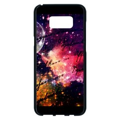 Letter From Outer Space Samsung Galaxy S8 Plus Black Seamless Case by augustinet