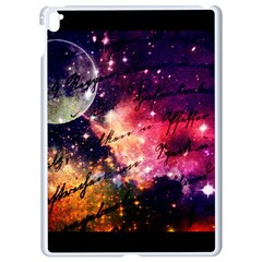 Letter From Outer Space Apple Ipad Pro 9 7   White Seamless Case by augustinet