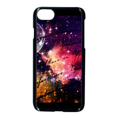 Letter From Outer Space Apple Iphone 8 Seamless Case (black) by augustinet