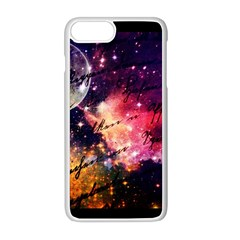 Letter From Outer Space Apple Iphone 8 Plus Seamless Case (white) by augustinet