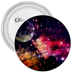 Letter From Outer Space 3  Buttons by augustinet