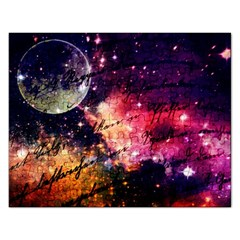 Letter From Outer Space Rectangular Jigsaw Puzzl by augustinet