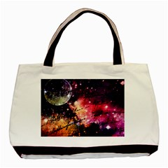 Letter From Outer Space Basic Tote Bag by augustinet