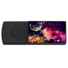 Letter From Outer Space Rectangular Usb Flash Drive by augustinet