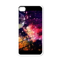 Letter From Outer Space Apple Iphone 4 Case (white) by augustinet
