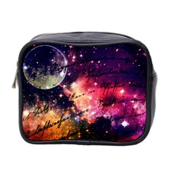 Letter From Outer Space Mini Toiletries Bag 2 Side by augustinet