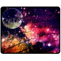 Letter From Outer Space Fleece Blanket (medium)  by augustinet