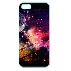 Letter From Outer Space Apple Seamless Iphone 5 Case (color) by augustinet