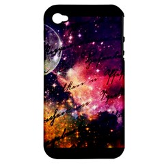 Letter From Outer Space Apple Iphone 4/4s Hardshell Case (pc+silicone) by augustinet