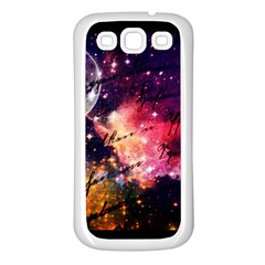 Letter From Outer Space Samsung Galaxy S3 Back Case (white) by augustinet