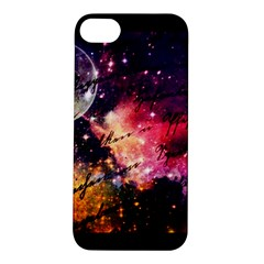 Letter From Outer Space Apple Iphone 5s/ Se Hardshell Case by augustinet