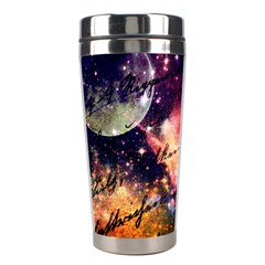 Letter From Outer Space Stainless Steel Travel Tumblers by augustinet