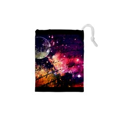 Letter From Outer Space Drawstring Pouches (xs)  by augustinet
