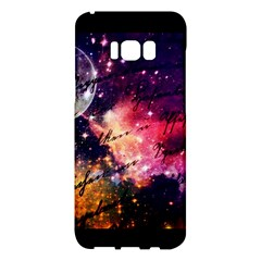 Letter From Outer Space Samsung Galaxy S8 Plus Hardshell Case  by augustinet
