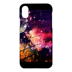 Letter From Outer Space Apple Iphone X Hardshell Case by augustinet