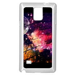 Letter From Outer Space Samsung Galaxy Note 4 Case (white) by augustinet