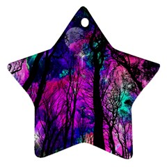 Magic Forest Ornament (star) by augustinet