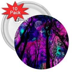 Magic Forest 3  Buttons (10 Pack)  by augustinet