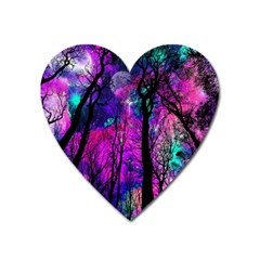 Magic Forest Heart Magnet by augustinet