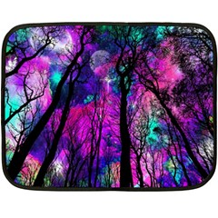 Magic Forest Fleece Blanket (mini) by augustinet