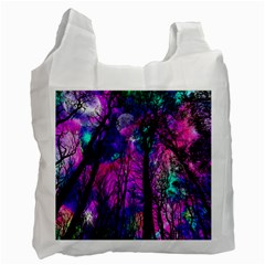 Magic Forest Recycle Bag (one Side) by augustinet