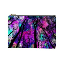 Magic Forest Cosmetic Bag (large)  by augustinet