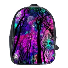 Magic Forest School Bag (large) by augustinet