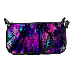 Magic Forest Shoulder Clutch Bags by augustinet