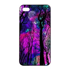 Magic Forest Apple Iphone 4/4s Seamless Case (black) by augustinet