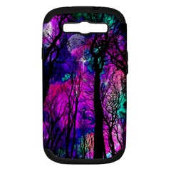 Magic Forest Samsung Galaxy S Iii Hardshell Case (pc+silicone) by augustinet