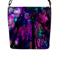 Magic Forest Flap Messenger Bag (l)  by augustinet