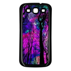 Magic Forest Samsung Galaxy S3 Back Case (black) by augustinet