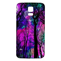 Magic Forest Samsung Galaxy S5 Back Case (white) by augustinet