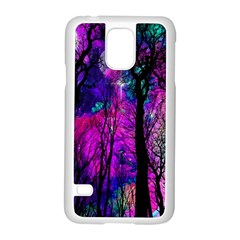Magic Forest Samsung Galaxy S5 Case (white) by augustinet