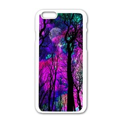 Magic Forest Apple Iphone 6/6s White Enamel Case by augustinet