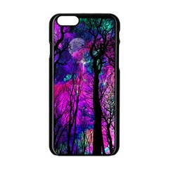 Magic Forest Apple Iphone 6/6s Black Enamel Case by augustinet