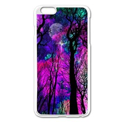 Magic Forest Apple Iphone 6 Plus/6s Plus Enamel White Case by augustinet