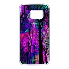 Magic Forest Samsung Galaxy S7 White Seamless Case by augustinet