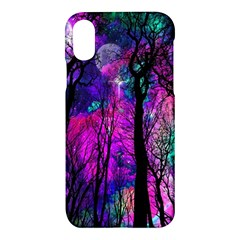 Magic Forest Apple Iphone X Hardshell Case by augustinet