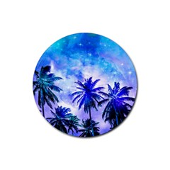 Summer Night Dream Rubber Coaster (round)