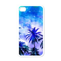 Summer Night Dream Apple Iphone 4 Case (white) by augustinet