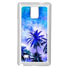 Summer Night Dream Samsung Galaxy Note 4 Case (white)