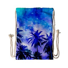 Summer Night Dream Drawstring Bag (small)