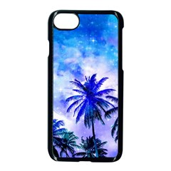 Summer Night Dream Apple Iphone 8 Seamless Case (black) by augustinet